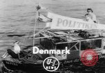 Image of amphibious jeep Denmark, 1951, second 1 stock footage video 65675070973
