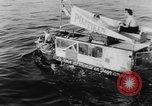 Image of amphibious jeep Denmark, 1951, second 7 stock footage video 65675070973