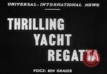 Image of yachts English Channel, 1951, second 3 stock footage video 65675070977