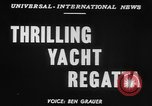 Image of yachts English Channel, 1951, second 4 stock footage video 65675070977