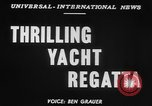 Image of yachts English Channel, 1951, second 5 stock footage video 65675070977