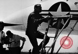 Image of First test flight of the Douglas F5D Skylancer aircraft California USA, 1956, second 3 stock footage video 65675070984
