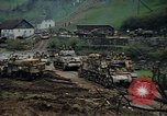 Image of convoy of American tanks Germany, 1945, second 7 stock footage video 65675070986