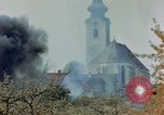 Image of fire Austria, 1945, second 6 stock footage video 65675070987