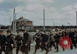 Image of German prisoners Austria, 1945, second 4 stock footage video 65675070990