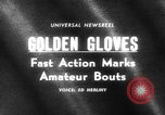 Image of Golden Gloves New York United States USA, 1965, second 1 stock footage video 65675071000