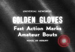 Image of Golden Gloves New York United States USA, 1965, second 3 stock footage video 65675071000