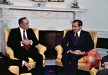 Image of President Richard Nixon Washington DC USA, 1974, second 10 stock footage video 65675071001