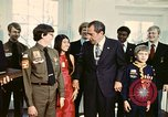 Image of Boy Scouts meet President Richard Nixon Washington DC USA, 1974, second 3 stock footage video 65675071003