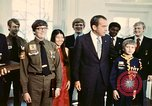 Image of Boy Scouts meet President Richard Nixon Washington DC USA, 1974, second 5 stock footage video 65675071003
