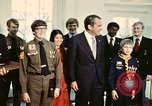 Image of Boy Scouts meet President Richard Nixon Washington DC USA, 1974, second 6 stock footage video 65675071003