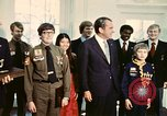Image of Boy Scouts meet President Richard Nixon Washington DC USA, 1974, second 7 stock footage video 65675071003