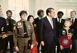 Image of Boy Scouts meet President Richard Nixon Washington DC USA, 1974, second 9 stock footage video 65675071003