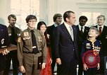 Image of Boy Scouts meet President Richard Nixon Washington DC USA, 1974, second 10 stock footage video 65675071003