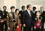 Image of Boy Scouts meet President Richard Nixon Washington DC USA, 1974, second 11 stock footage video 65675071003