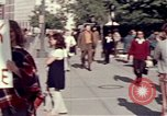 Image of White House demonstrations Washington DC USA, 1972, second 6 stock footage video 65675071006