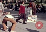 Image of White House demonstrations Washington DC USA, 1972, second 11 stock footage video 65675071006