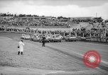 Image of jalopies crashed at demolition derby United Kingdom, 1965, second 6 stock footage video 65675071050