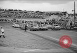 Image of jalopies crashed at demolition derby United Kingdom, 1965, second 8 stock footage video 65675071050