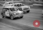 Image of jalopies crashed at demolition derby United Kingdom, 1965, second 12 stock footage video 65675071050