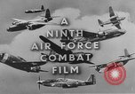 Image of 9th Army Air Force European Theater, 1944, second 7 stock footage video 65675071074