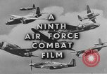 Image of 9th Army Air Force European Theater, 1944, second 10 stock footage video 65675071074