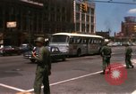 Image of United States soldiers on Guard duty in City Detroit Michigan USA, 1967, second 11 stock footage video 65675071096
