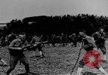Image of American Army soldiers training in combat during World War 1 France, 1917, second 4 stock footage video 65675071099