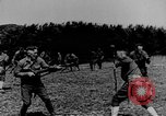Image of American Army soldiers training in combat during World War 1 France, 1917, second 7 stock footage video 65675071099