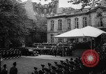 Image of Churchill and De Gaulle meeting Paris France, 1958, second 8 stock footage video 65675071114