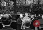 Image of Churchill and De Gaulle meeting Paris France, 1958, second 11 stock footage video 65675071114