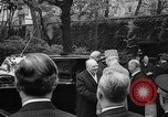 Image of Churchill and De Gaulle meeting Paris France, 1958, second 12 stock footage video 65675071114