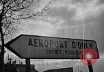 Image of air lift of men Paris France, 1952, second 1 stock footage video 65675071121