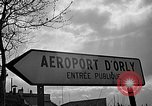 Image of air lift of men Paris France, 1952, second 2 stock footage video 65675071121