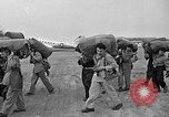 Image of air lift of men Paris France, 1952, second 12 stock footage video 65675071122