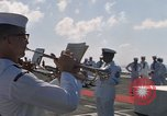 Image of Sixth Fleet anniversary Mediterranean Sea, 1968, second 9 stock footage video 65675071131