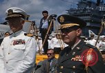 Image of Sixth Fleet anniversary Mediterranean Sea, 1968, second 3 stock footage video 65675071132