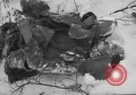 Image of Bodies of dead German soldiers in snow Ambleve Belgium, 1945, second 7 stock footage video 65675071159