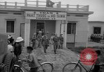 Image of communist troops Haiphong Vietnam, 1955, second 12 stock footage video 65675071164