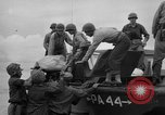Image of amphibious landing Palau Islands, 1944, second 5 stock footage video 65675071179