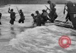 Image of amphibious landing Palau Islands, 1944, second 2 stock footage video 65675071180