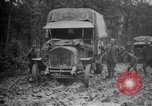 Image of trucks Sanzey Meurthe-et-Moselle France, 1918, second 4 stock footage video 65675071197