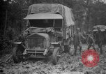Image of trucks Sanzey Meurthe-et-Moselle France, 1918, second 5 stock footage video 65675071197