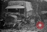 Image of trucks Sanzey Meurthe-et-Moselle France, 1918, second 6 stock footage video 65675071197