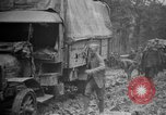Image of trucks Sanzey Meurthe-et-Moselle France, 1918, second 8 stock footage video 65675071197
