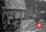 Image of trucks Sanzey Meurthe-et-Moselle France, 1918, second 10 stock footage video 65675071197