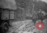 Image of trucks Sanzey Meurthe-et-Moselle France, 1918, second 11 stock footage video 65675071197