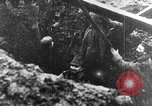 Image of German soldiers in trenches Europe, 1916, second 2 stock footage video 65675071210