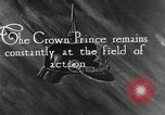 Image of German Crown Prince Wilhelm Europe, 1916, second 2 stock footage video 65675071213