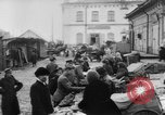 Image of market place Russia, 1918, second 4 stock footage video 65675071231